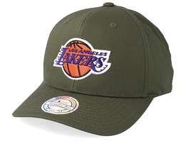 LA Lakers Battle Green 110 Adjustable - Mitchell & Ness
