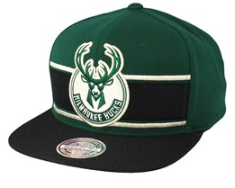 Milwaukee Bucks Eredita Green/Black 110 Snapback - Mitchell & Ness