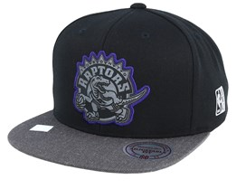 Toronto Raptors Reflective Duo Black/Grey Snapback - Mitchell & Ness