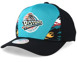 Detroit Pistons DNA 110 Teal/Black Adjustable - Mitchell & Ness
