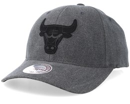 Chicago Bulls Erode Black Adjustable - Mitchell & Ness