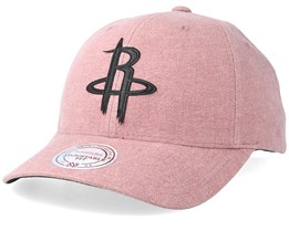 Houston Rockets Erode Pink Adjustable - Mitchell & Ness