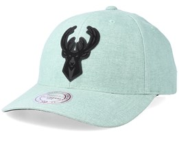 Minnesota Timberwolves Erode Green Adjustable - Mitchell & Ness
