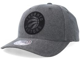 Toronto Raptors Erode Grey Adjustable - Mitchell & Ness