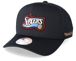 Philadelphia 76ers Icon Black 110 Adjustable - Mitchell & Ness