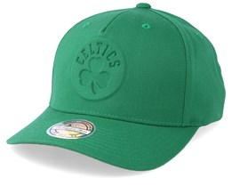 Boston Celtics Deboss Green 110 Adjustable - Mitchell & Ness
