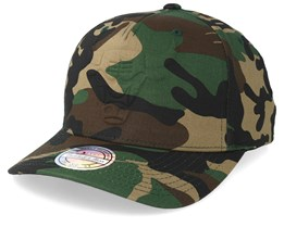 Chicago Bulls Deboss Green Camo 110 Adjustable - Mitchell & Ness