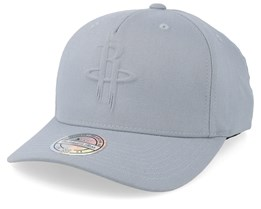 Houston Rockets Deboss Light Grey 110 Adjustable - Mitchell & Ness