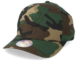 Milwaukee Bucks Deboss Camo 110 Adjustable - Mitchell & Ness