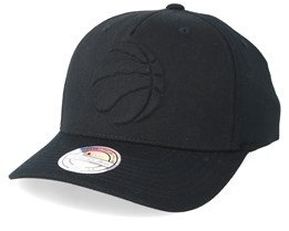 Toronto Raptors Deboss Black 110 Adjustable - Mitchell & Ness