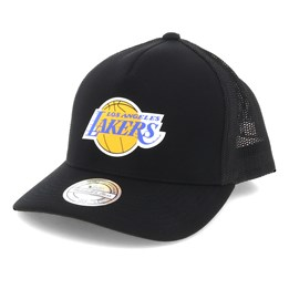 86e8f68a7463c Mitchell & Ness LA Lakers Vintage Jersey Black 110 Trucker - Mitchell & Ness  $29.99