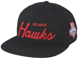 Atlanta Hawks Draft Series Black Snapback - Mitchell & Ness