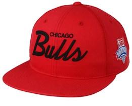 Chicago Bulls Draft Series Red Snapback - Mitchell & Ness