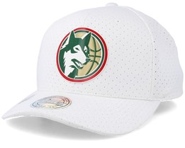 Minnesota Timberwolves Ace White 110 Adjustable - Mitchell & Ness