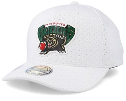 Vancouver Grizzlies Ace White 110 Adjustable - Mitchell & Ness