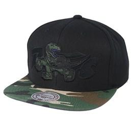 the best attitude d7c22 b0889 Mitchell   Ness Toronto Raptors Woodland Blind Black Camo Snapback -  Mitchell   Ness CA  39.99