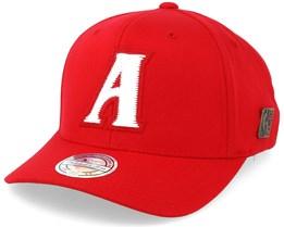 Atlanta Hawks Freshman Red 110 Adjustable - Mitchell & Ness