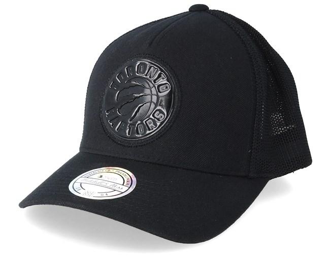 812eaebcf0a86c Toronto Raptors Zig Zag 110 Black Trucker - Mitchell & Ness caps -  Hatstorecanada.com