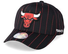 Chicago Bulls Icon Black 110 Adjustable - Mitchell & Ness