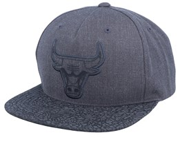 Chicago Bulls Charcoal/Cracked Reflective Snapack - Mitchell & Ness