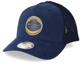 115 Year Patch 110 Navy Trucker - Mitchell & Ness