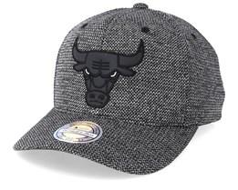 Chicago Bulls Team Reflective Charcoal/Black 110 Adjustable - Mitchell & Ness