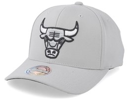 Chicago Bulls Mist Light Grey 110 Adjustable - Mitchell & Ness