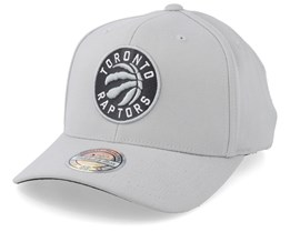 Toronto Raptors Mist Light Grey 110 Adjustable - Mitchell & Ness