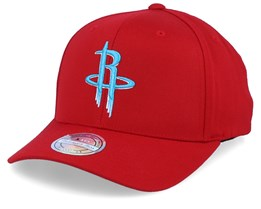 Houston Rockets Red/Teal 110 Adjustable - Mitchell & Ness