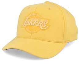 LA Lakers Melange Jersey Yellow 110 Adjustable - Mitchell & Ness