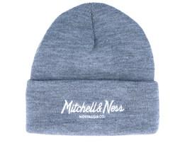 Own Brand Pinscript Grey Heather Cuff - Mitchell & Ness