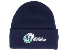 Dallas Mavericks Team Logo Navy Cuff - Mitchell & Ness