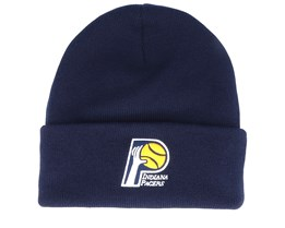 Indiana Pacers Team Logo Navy Cuff - Mitchell & Ness