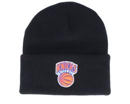 New York Knicks Team Logo Black Cuff - Mitchell & Ness