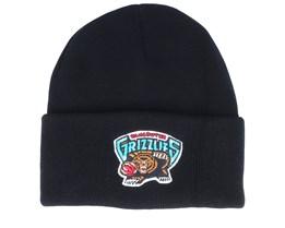 Vancouver Grizzlies Team Logo Black Cuff - Mitchell & Ness