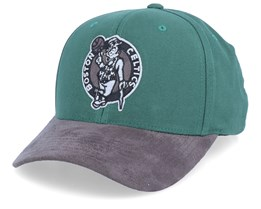 Boston Celtics Dark Agent Reflective Green 110 Adjustable - Mitchell & Ness