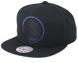 Golden State Warriors Pop Black Snapback - Mitchell & Ness