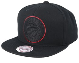 Toronto Raptors Pop Black Snapback - Mitchell & Ness