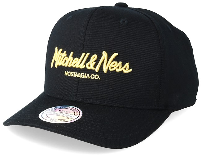 Exclusive Pinscript 110 Black Adjustable - Mitchell & Ness