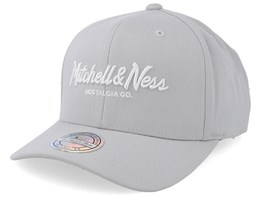 Exclusive Pinscript 110 Silver Cloud Adjustable - Mitchell & Ness