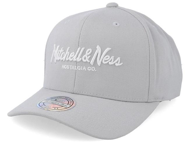 size 40 85d70 d4f33 Exclusive Pinscript 110 Silver Cloud Adjustable - Mitchell   Ness caps -  Hatstoreaustralia.com