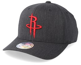 Houston Rockets Logo 110 Charcoal Adjustable - Mitchell & Ness
