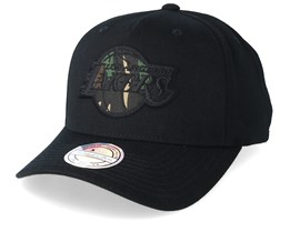 LA Lakers 110 Black/Camo Adjustable - Mitchell & Ness