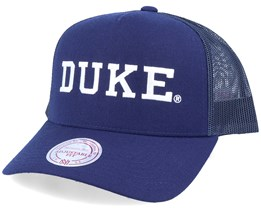 Duke Blue Devils Workmark Navy Trucker - Mitchell & Ness