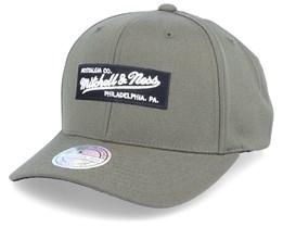 Own Brand Box Logo Olive 110 Adjustable - Mitchell & Ness