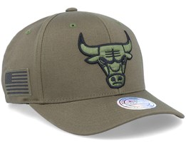 Hatstore Exclusive Chicago Bulls Veterans Olive - Mitchell & Ness