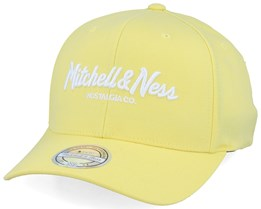 Own Brand Pinscript Pastel Yellow 110 Adjustable - Mitchell & Ness