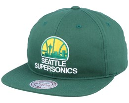 Seattle Supersonics Deadstock Throwback Green Snapback - Mitchell & Ness