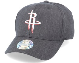 Houston Rockets Heather Pop Charcoal 110 Adjustable - Mitchell & Ness