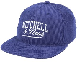 Own Brand Summer Cord Navy Snapback - Mitchell & Ness